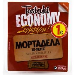 TOSTAKI ECONOMY ΜΟΡΤΑΔΕΛΑ ΦΕΤΕΣ 160γρ.