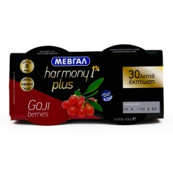 HARMONY 1% PLUS GOJI BERRY 150γρ. -0,30€ (2 τεμ.)